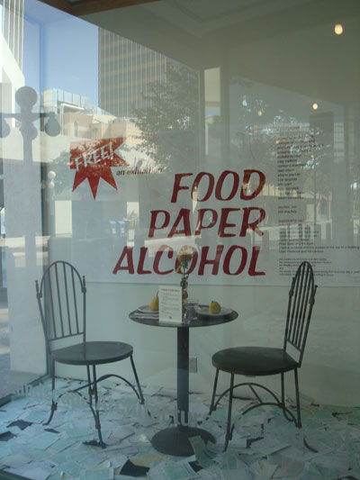 Food Paper Alcohol