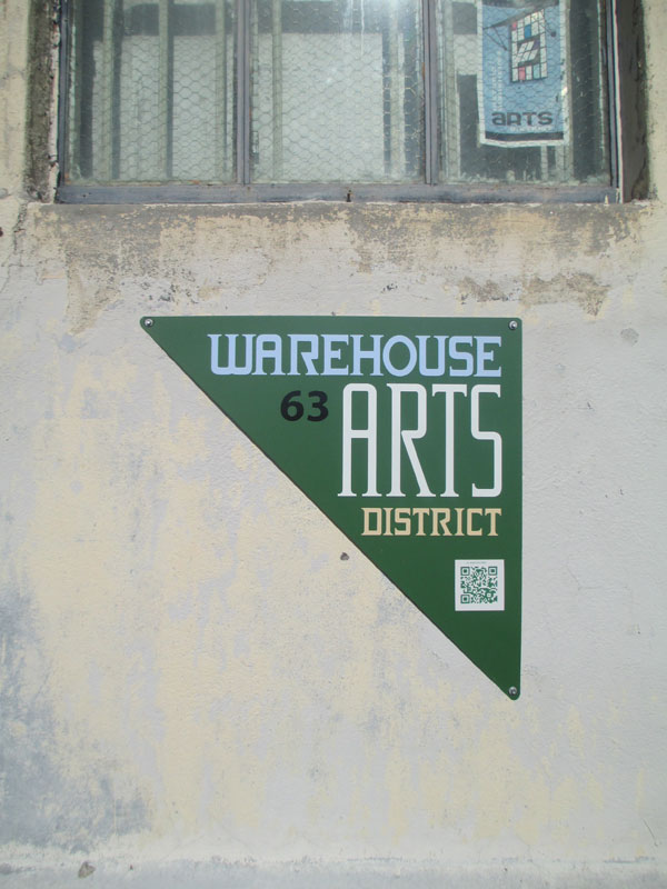Warehouse Arts District Sign Project